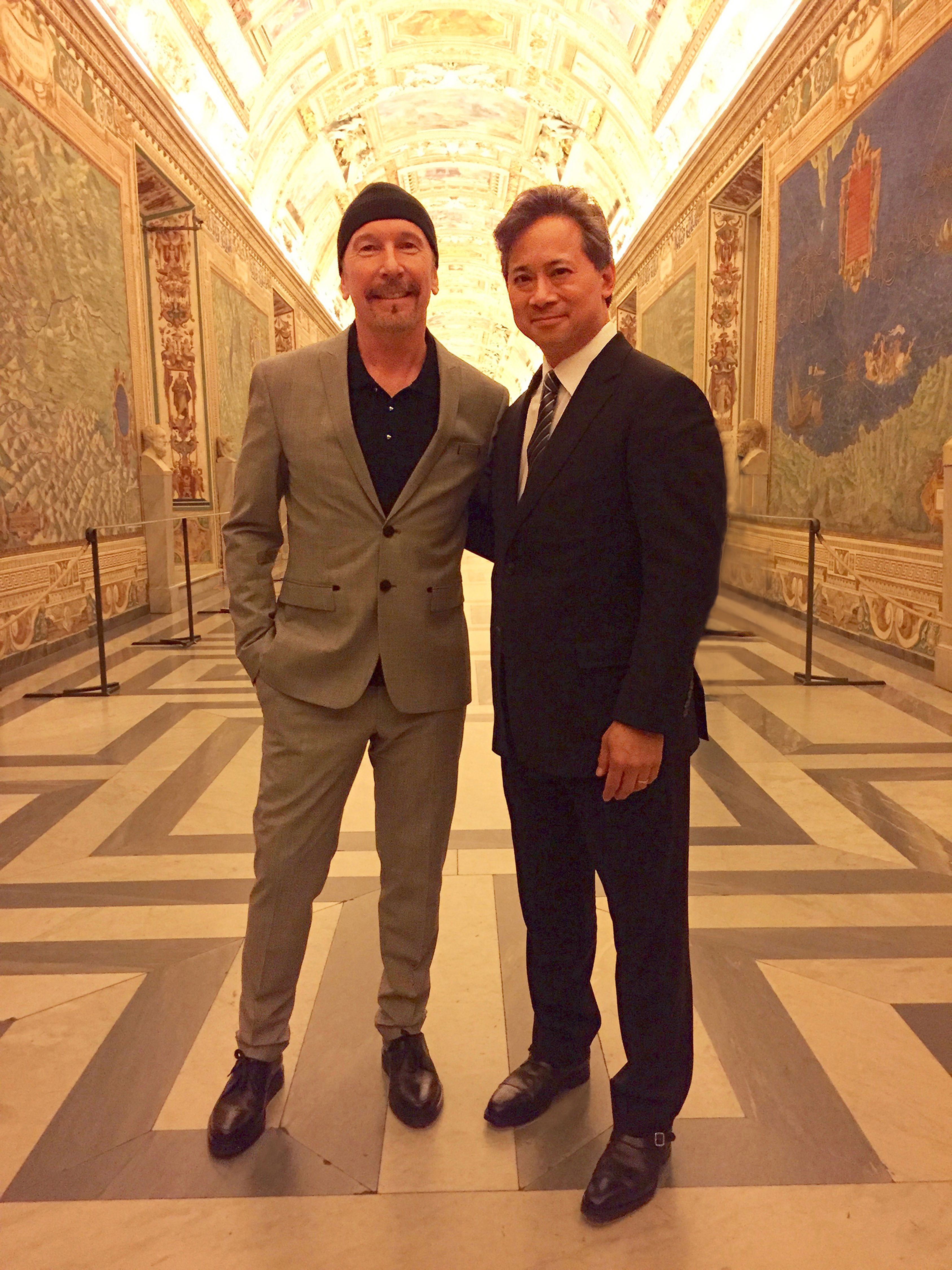Doctor and Rock Star Bring Mission of Health Equity to Vatican Via Foods that Fight Disease